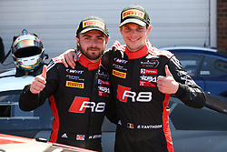 May 6, 2018 - Brands Hatch, Grande Bretagne - 2 BELGIAN AUDI CLUB TEAM WRT (BEL) AUDI R8 LMS DRIES VANTHOOR (BEl) WILL STEVENS (GBR) WINNERS (Credit Image: © Panoramic via ZUMA Press)