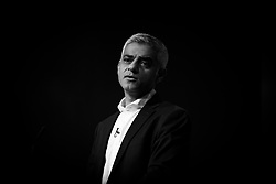 25/09/2017. Brighton, UK. Mayor of London and member of the Labour party SADIQ KHAN speaks at the 2017 Labour Party Conference in Brighton. Photo credit: Hugo Michiels Photography