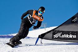 PICK Owen, Banked Slalom, 2015 IPC Snowboarding World Championships, La Molina, Spain