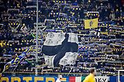 PARMA 2016-12-23:  REPORTAGE PARMA CALCIO.<br /> Parma fans under matchen mellan Parma Calcio och Modena p&aring; Stadio Ennio Tardini.<br /> Foto: Nils Petter Nilsson