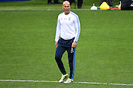 Real Madrid manager Zinedine Zidane pictured during Real Madrid training prior to their UEFA Champions League Final match against Atl&eacute;tico Madrid. San Siro, Milan, Italy.<br /> Picture by Kristian Kane/Focus Images Ltd 07814482222<br /> 27/05/2016