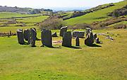 Drombeg stone circle, County Cork, Ireland, Irish Republic