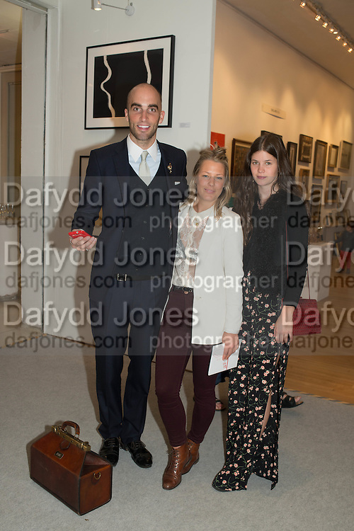 DRUMMOND MONEY-COUTTS; , DAVINA HARBORD; ALEXANDRA CRONAN,  20/21 British Art Fair. Celebrating its 25 Anniversary. The Royal College of Art . Kensington Gore. London. 12 September 2012.