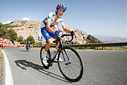 Laurens De Plus (BEL - QuickStep - Floors) during the UCI World Tour, Tour of Spain (Vuelta) 2018, Stage 4, Velez Malaga - Alfacar Sierra de la Alfaguara 161,4 km in Spain, on August 28th, 2018 - Photo Luca Bettini / BettiniPhoto / ProSportsImages / DPPI