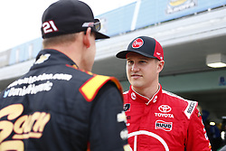 November 16, 2018 - Homestead, Florida, U.S. - Ryan Preece (18) hangs out in the garage during practice for the Ford 300 at Homestead-Miami Speedway in Homestead, Florida. (Credit Image: © Justin R. Noe Asp Inc/ASP)