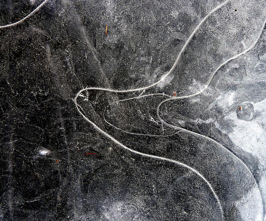 Lake ice, Maine