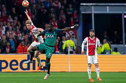 08-05-2019 NED: Semi Final Champions League AFC Ajax - Tottenham Hotspur, Amsterdam<br /> After a dramatic ending, Ajax has not been able to reach the final of the Champions League. In the final second Tottenham Hotspur scored 3-2 / Frenkie de Jong #21 of Ajax, Moussa Sissoko #17 of Tottenham Hotspur