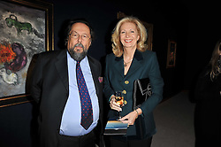 JOHN & LINDA RIMMINGTON at a cocktail party and auction to launch the forthcoming celebrations for Mikhail Gorbachev's 80th birthday held at Christie's, 8 King Street, London on 3rd February 2011.