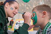 17904Homecoming 2006 10/20/06: Tailgreat.Kaitlyn Gannon & Warren Baltimore III(from Seattle, Washington parents are 1987 alums)