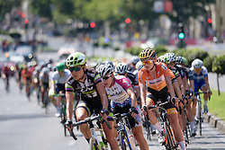 Kasia Pawlowska (Boels Dolmans) near the front at Madrid Challenge by La Vuelta an 87km road race in Madrid, Spain on 11th September 2016.