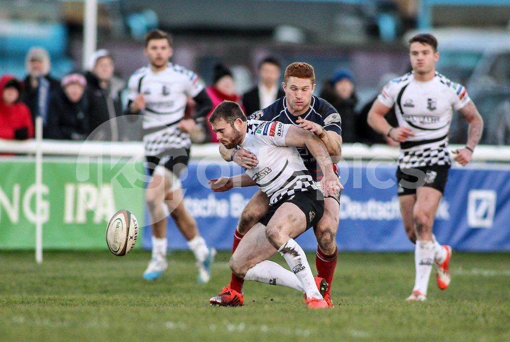Connor Braid in action during the B&amp;I Cup match between London Scottish &amp; Pontypridd at Richmond, Greater London on 13th December 2014<br /> <br /> Photo: Ken Sparks | UK Sports Pics Ltd<br /> London Scottish v Pontypridd, B&amp;I Cup, 13th December 2014<br /> <br /> &copy; UK Sports Pics Ltd. FA Accredited. Football League Licence No:  FL14/15/P5700.Football Conference Licence No: PCONF 051/14 Tel +44(0)7968 045353. email ken@uksportspics.co.uk, 7 Leslie Park Road, East Croydon, Surrey CR0 6TN. Credit UK Sports Pics Ltd