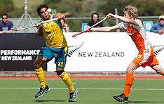 Auckland-Hockey, Champions Trophy, Australia v Netherlands
