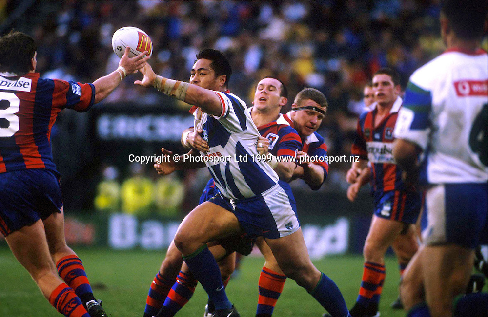 Joe Vagana - Auckland Warriors, NRL 1999. Photo: Dean Treml/Photosport.co.nz