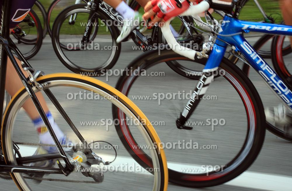 Bikes during 1st stage of the 15th Tour de Slovenie from Ljubljana to Postojna (161 km) , on June 11,2008, Slovenia. (Photo by Vid Ponikvar / Sportal Images)/ Sportida)