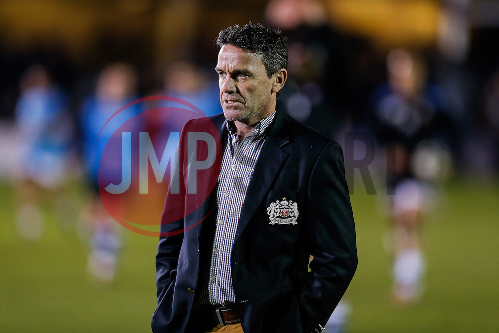 Bath Head Coach Mike Ford looks on - Photo mandatory by-line: Rogan Thomson/JMP - 07966 386802 - 12/12/2014 - SPORT - RUGBY UNION - Bath, England - The Recreation Ground - Bath Rugby v Montpellier Herault Rugby - European Rugby Champions Cup Pool 4.