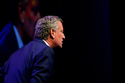 Democratic Presidential hopeful NYC Mayor Bill DiBlassio attends the Philadelphia Council AFL-CIO Workers' Presidential Summit, at the Pennsylvania Convention Center in Philadelphia, PA, on September 17, 2019.