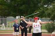 2013 Paralympic Track & Field Trials in San Antonio, Texas.