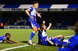 Edward Upson of Bristol Rovers celebrates scoring a goal - Mandatory by-line: Dougie Allward/JMP - 07/12/2019 - FOOTBALL - Memorial Stadium - Bristol, England - Bristol Rovers v Southend United - Sky Bet League One