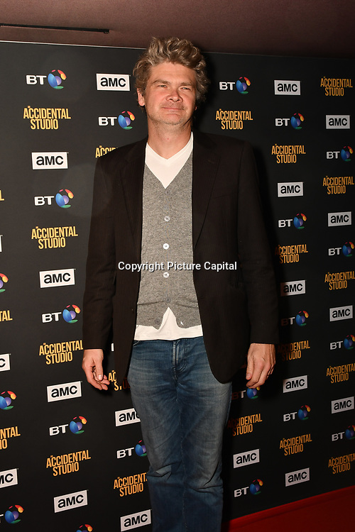Simon Farnaby Arrivers at Premiere of documentary about the British film production company, Handmade Films, created by George Harrison of the Beatles on 27 March 2019, London, UK.