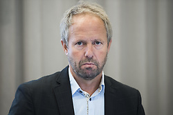 August 31, 2017 - Oslo, NORWAY - 170831 General secretary PÅ'l Bjerketvedt of the Norwegian Football Association (NFF) comments on football player Ada Hegerberg (not pictured) taking a break from the national team on August 31, 2017 in Oslo..Photo: Jon Olav Nesvold / BILDBYRN / kod JE / 160000 (Credit Image: © Jon Olav Nesvold/Bildbyran via ZUMA Wire)