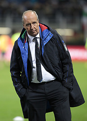 November 13, 2017 - Milan, Italy - Giampieero Ventura during the playoff match for qualifying for the Football World Cup 2018  between Italia v Svezia, in Milan, on November 13, 2017. (Credit Image: © Loris Roselli/NurPhoto via ZUMA Press)