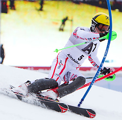 22.01.2012, Ganslernhang, Kitzbuehel, AUT, FIS Weltcup Ski Alpin, 72. Hahnenkammrennen, Herren, Slalom 1. Durchgang, im Bild Marcel Hirscher (AUT) // Marcel Hirscher of Austria during Slalom race 1st run of 72th Hahnenkammrace of FIS Ski Alpine World Cup at 'Ganslernhang' course in Kitzbuhel, Austria on 2012/01/22. EXPA Pictures © 2012, PhotoCredit: EXPA/ Johann Groder