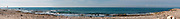 Panoramic seascape Photographed in Jaffa, Israel