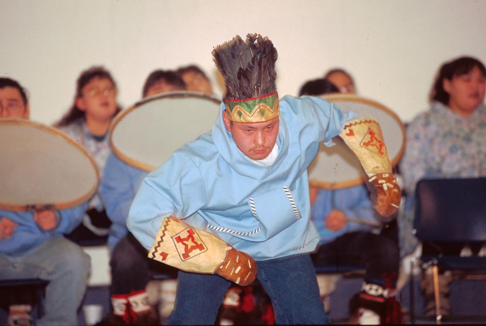 Native Dance performance in Barrow.