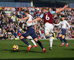 Harry Kane of Tottenham Hotspur (L) scores his sides first goal - Mandatory by-line: Jack Phillips/JMP - 23/02/2019 - FOOTBALL - Turf Moor - Burnley, England - Burnley v Tottenham Hotspur - English Premier League