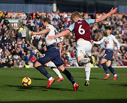 Harry Kane of Tottenham Hotspur (L) scores his sides first goal - Mandatory by-line: Jack Phillips/JMP - 23/02/2019 - FOOTBALL - Turf Moor - Burnley, England - Burnley v Tottenham Hotspur - English Premier League