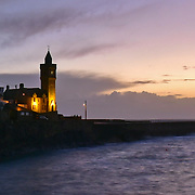 Crop to show detail of Porthleven Panorama