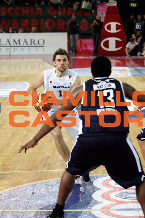 DESCRIZIONE : Roma Lega A1 2005-06 Lottomatica Virtus Roma Climamio Fortitudo Bologna<br /> GIOCATORE : Marko Pesic<br /> SQUADRA : Lottomatica Virtus Roma<br /> EVENTO : Campionato Lega A1 2005-2006<br /> GARA : Lottomatica Virtus Roma Climamio Fortitudo Bologna<br /> DATA : 13/11/2005<br /> CATEGORIA : <br /> SPORT : Pallacanestro<br /> AUTORE : Agenzia Ciamillo&amp;Castoria