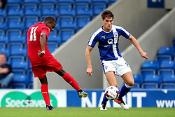 Liandre Martis of Leicester City scores his sides first goal  - Mandatory by-line: Matt McNulty/JMP - 02/08/2016 - FOOTBALL - Pro Act Stadium - Chesterfield, England - Chesterfield v Leicester City - Pre-season friendly