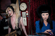 JONBEMET; PRINCESS JULIA, Ponystep - issue 3 launch party, George and Dragon, 2-4 Hackney Road, London, E2.  April 5 2012.
