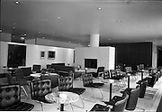 23/05/1963<br /> 05/23/1963<br /> 23 May 1963<br /> The Intercontinental Hotel, Dublin.<br /> Images of the recently opened Intercontinental hotel for the Cork Examiner. Image shows a section of the lounge.