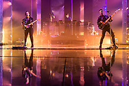 The XX at the London Brixton Academy on Saturday 11 Mar 2017 for their Night & Day residency.<br />