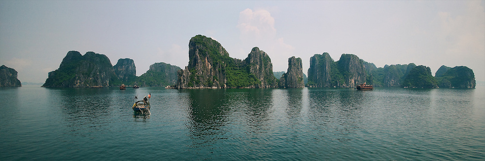 Vietnam Images-Panoramic landscape-seascape-ha long bay