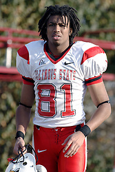 25 November 2006: Laurent Robinson.&#xD;The Redbirds romped the Panthers by a score of 24-13.&#xD;This game was a 1st round NCAA Division 1 Playoff held at O'Brien Stadium on the campus of Eastern Illinois University in Charleston Illinois.<br />