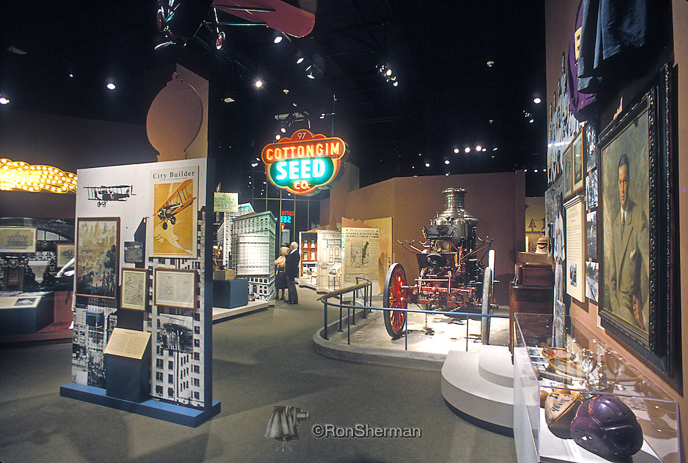 he Atlanta History Center is a history museum located in the Buckhead district of Atlanta, Georgia. The Museum was founded in 1926, and currently consists of 12 exhibits. There are also historic gardens and houses located on the grounds, including the Swan House and Tullie Smith Farm. The Museum houses the Kenan Research Center, which includes 3.5 million resources and a reproduction of historian Franklin Garrett's (1906-2000) office. The Museum also has one of the largest collections of Civil War artifacts in the U.S.