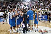 DESCRIZIONE : Cagliari Eurobasket Men 2009 Additional Qualifying Round Italia Francia<br /> GIOCATORE : team<br /> SQUADRA : Italy Italia Nazionale Maschile<br /> EVENTO : Eurobasket Men 2009 Additional Qualifying Round <br /> GARA : Italia Francia Italy France<br /> DATA : 05/08/2009 <br /> CATEGORIA : team<br /> SPORT : Pallacanestro <br /> AUTORE : Agenzia Ciamillo-Castoria/C.De Massis