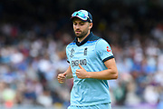Mark Wood of England during the ICC Cricket World Cup 2019 Final match between New Zealand and England at Lord's Cricket Ground, St John's Wood, United Kingdom on 14 July 2019.