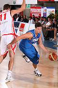 DESCRIZIONE : Bormio Torneo Internazionale Gianatti Italia Austria <br /> GIOCATORE : Danilo Gallinari<br /> SQUADRA : Nazionale Italia Uomini <br /> EVENTO : Bormio Torneo Internazionale Gianatti <br /> GARA : Italia Austria <br /> DATA : 31/07/2007 <br /> CATEGORIA : Palleggio<br /> SPORT : Pallacanestro <br /> AUTORE : Agenzia Ciamillo-Castoria/G.Cottini<br /> Galleria : Fip Nazionali 2007<br /> Fotonotizia : Bormio Torneo Internazionale Gianatti Italia Austria<br /> Predefinita :