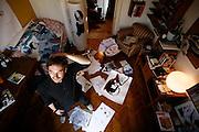 Milan,drawer, designer , artist daniel Egneus