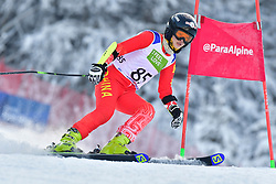 GUO Jiaxin, LW6/8-2, CHN, Men's Giant Slalom at the WPAS_2019 Alpine Skiing World Championships, Kranjska Gora, Slovenia