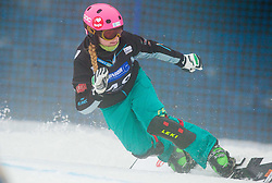 Iva Polanec of Slovenia competes during Parallel Giant Slalom Rogla 2014 of FIS Snowboard World Cup 2014, on January 18, 2014 in Course Jasa, Rogla, Slovenia. Photo by Vid Ponikvar / Sportida