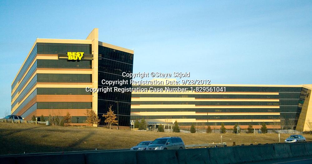 Best Buy corporate headquarters building. Richfield Minnesota MN USA
