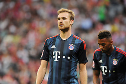 31.07.2013, Allianz Arena, Muenchen, Audi Cup 2013, FC Bayern Muenchen vs Sao Paulo, im Bild, Jan KIRCHHOFF (FC Bayern Muenchen), dahinter Jerome BOATENG (FC Bayern Muenchen), Einzelbild, angeschnitten, angeschnittenes einzelmotiv, halbfigur, halbe Figur, quer, querformat, horizontal, landscape, Aktion,  // during the Audi Cup 2013 match between FC Bayern Muenchen and Sao Paulon at the Allianz Arena, Munich, Germany on 2013/07/31. EXPA Pictures © 2013, PhotoCredit: EXPA/ Eibner/ Wolfgang Stuetzle<br /> <br /> ***** ATTENTION - OUT OF GER *****