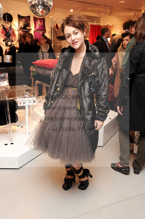 JAIME WINSTONE at the H&M Home Launch held at 174-176 Oxford Street, London W1 on 2nd November 2010.