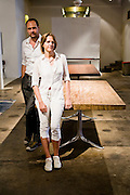 P. Tendercool desingers Pieter Compernol and Stephanie Grusenmeyer
