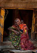 Young Mother - Jaisalmer Rajasthan